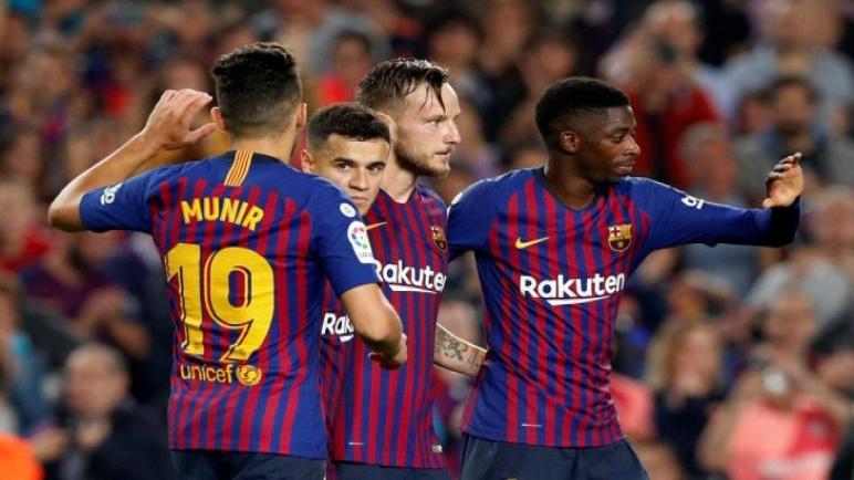 رابط بث مباشر مباراة برشلونة ورايو فاليكانو فى الدوري الاسباني