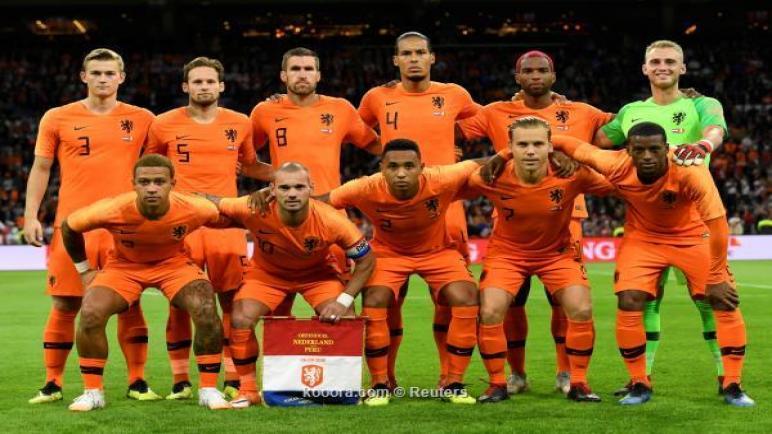 الآن شاهد لايف حصري مشاهدة مباراة هولندا وروسيا البيضاء بث مباشر