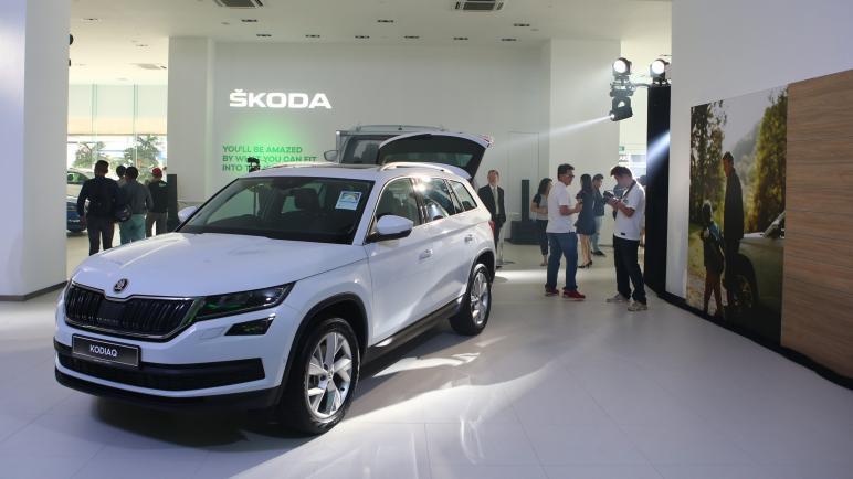 إطلاق طراز جديد لسيارات سكودا فى مصر